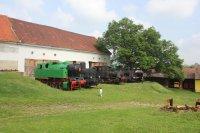 Zlonice - průmyslové lokomotivy